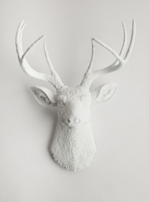 White Faux Taxidermy, The Templeton, http://www.whitefauxtaxidermy.com